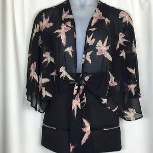 Inspire Look, Hummingbird, Kimono. NWT.